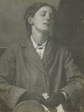Lilian Hickling just released from Holloway prison; c 1913