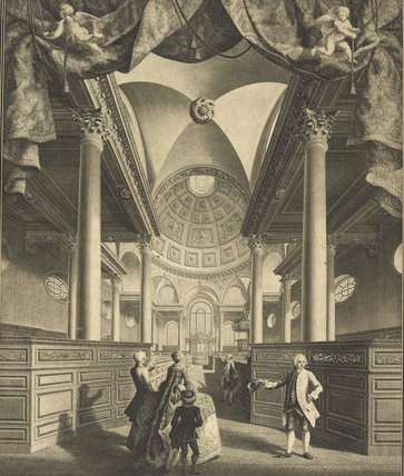 St Stephens Church, Walbrook, c. 1740
