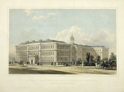 St. Mary's Mary-le-bone and Paddington Hospital; 1851