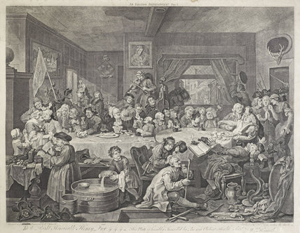 An Election Entertainment; 1755