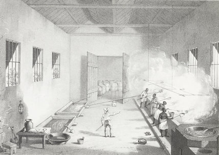 Interior of a Boiling-House; 1836