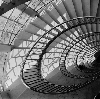 Staircase at Unilever House; 1952