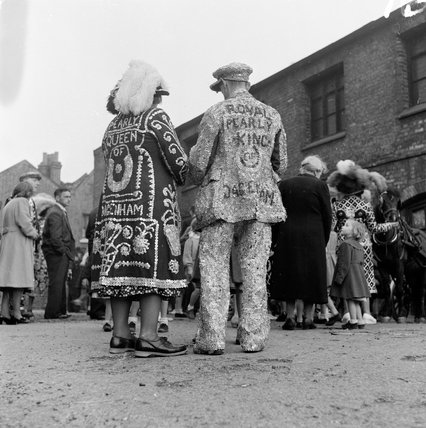 Pearly King and Queen of Dagenham; 1951