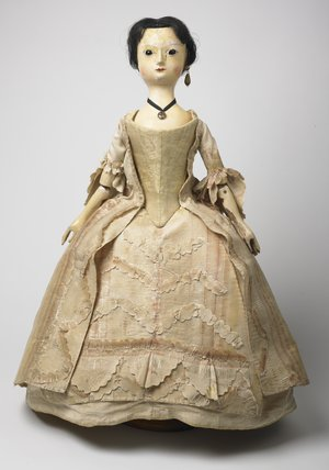 'The Queen of Denmark' doll: c.1760