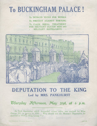 To Buckingham Palace, May 21, 1914