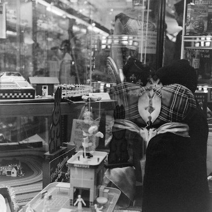 Hamleys Toy Shop window, Christmas 1961