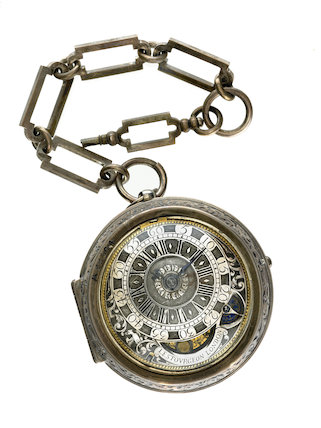 Post-Medieval pocket watch; 1702