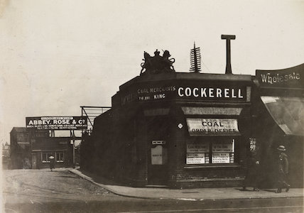 Rickett Cockerell and Abbey Rose & Co. near Sunderland Wharf, Peckham.