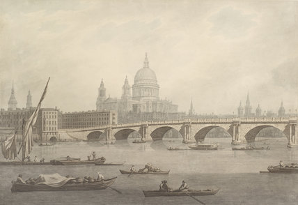 Blackfriars Bridge and St Paul's