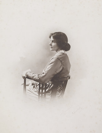 Photograph of Suffragette Violet Aitken; 1905
