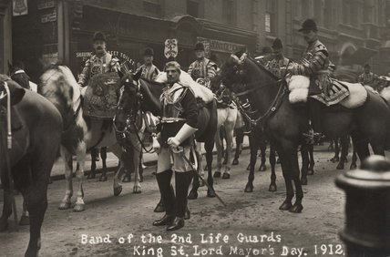 Band of the 2nd 2nd Life Guards; 1912