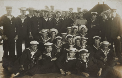 The sailors of HMS Dreadnought, 1906