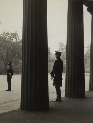 An inspection of the Welsh Guards by the Prince of Wales; 1934