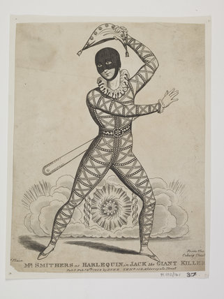 Mr Smithers as Harlequin in Jack the Giant Killer: 1829