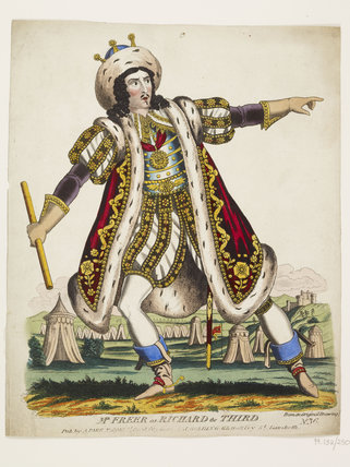 Mr Freer as Richard the Third: c.1830