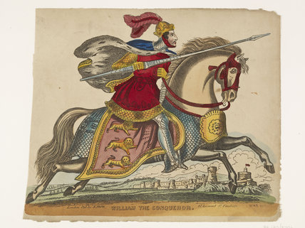 William the Conqueror at the Siege of Gerberoy Castle: c.1845