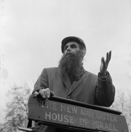Speakers Corner in Hyde Park; 1964