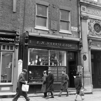 S. H. Harris & Son Hatton Garden; 1963