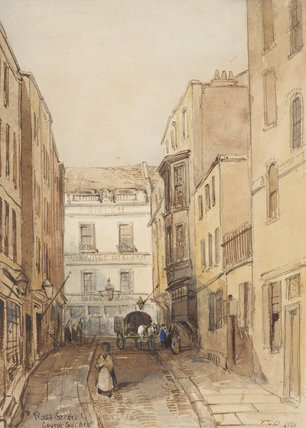 Rose Street, Covent Garden: 1851