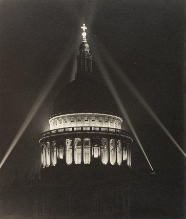 St Paul's as seen from Cheapside; 1946
