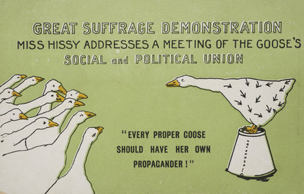 Great Suffrage Demonstration;1911