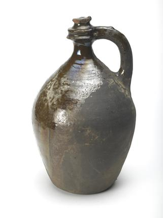 Pear shaped watering pot: 16th century
