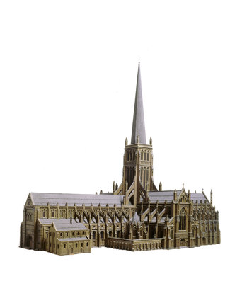 Model of Old St. Paul's Cathedral: c.1908