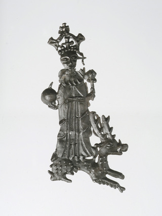 Pilgrim badge of Henry VI: 15th century