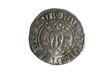 Silver coin: late 15th