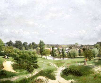 The Vale of Health, Hampstead Heath: 1921