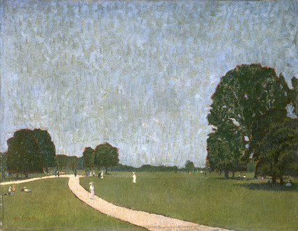 An Evening Scene in Green Park: c. 1911