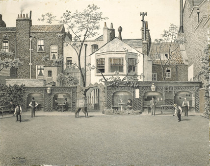Old Six Bells Bowling Green, King's Road, Chelsea: 1902