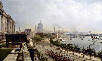 The Embankment: 1874