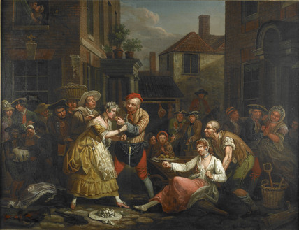 The Female Bruisers: 1768