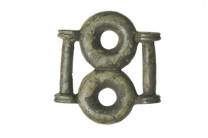 Iron Age bronze strap fitting