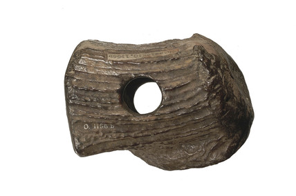Early Bronze Age hammer made of antler