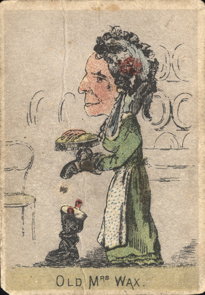 Old Mrs Wax: 19th Century
