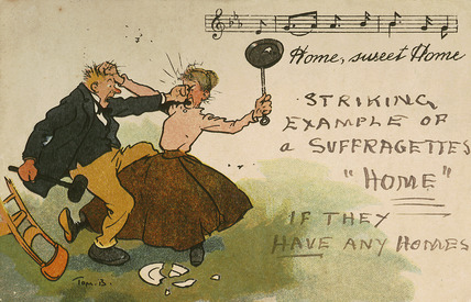 Home, sweet Home, Striking Example of a Suffragettes Home: 1909