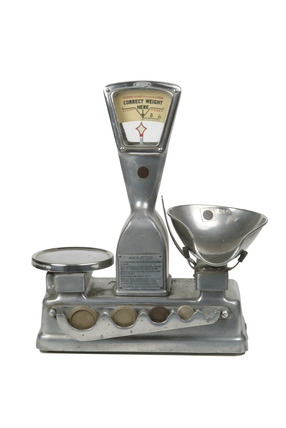 Weighing scales and weights: 20th century