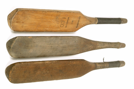 Miniature cricket bats: 20th century
