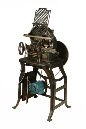 'Graphotype' addressograph machine: 20th century