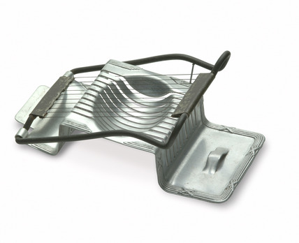 Aluminium egg slicer: 20th century