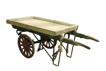 Bacon smokers hand cart: 20th century