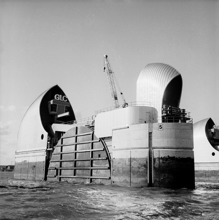 The Thames Flood Barrier: 1984