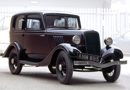 Ford Model Y saloon car: 20th century