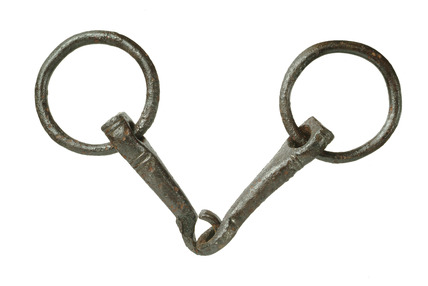 Complete bit with ring snaffle: 14th Century