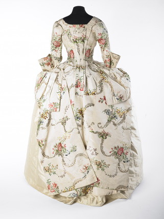Open robe dress or mantua: 18th century