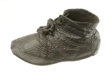 Medieval leather shoe