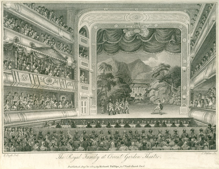 The Royal Family at Covent Garden Theatre: 1804
