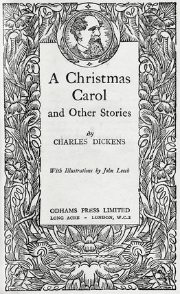 Cover of A Christmas carol: c1880-1900